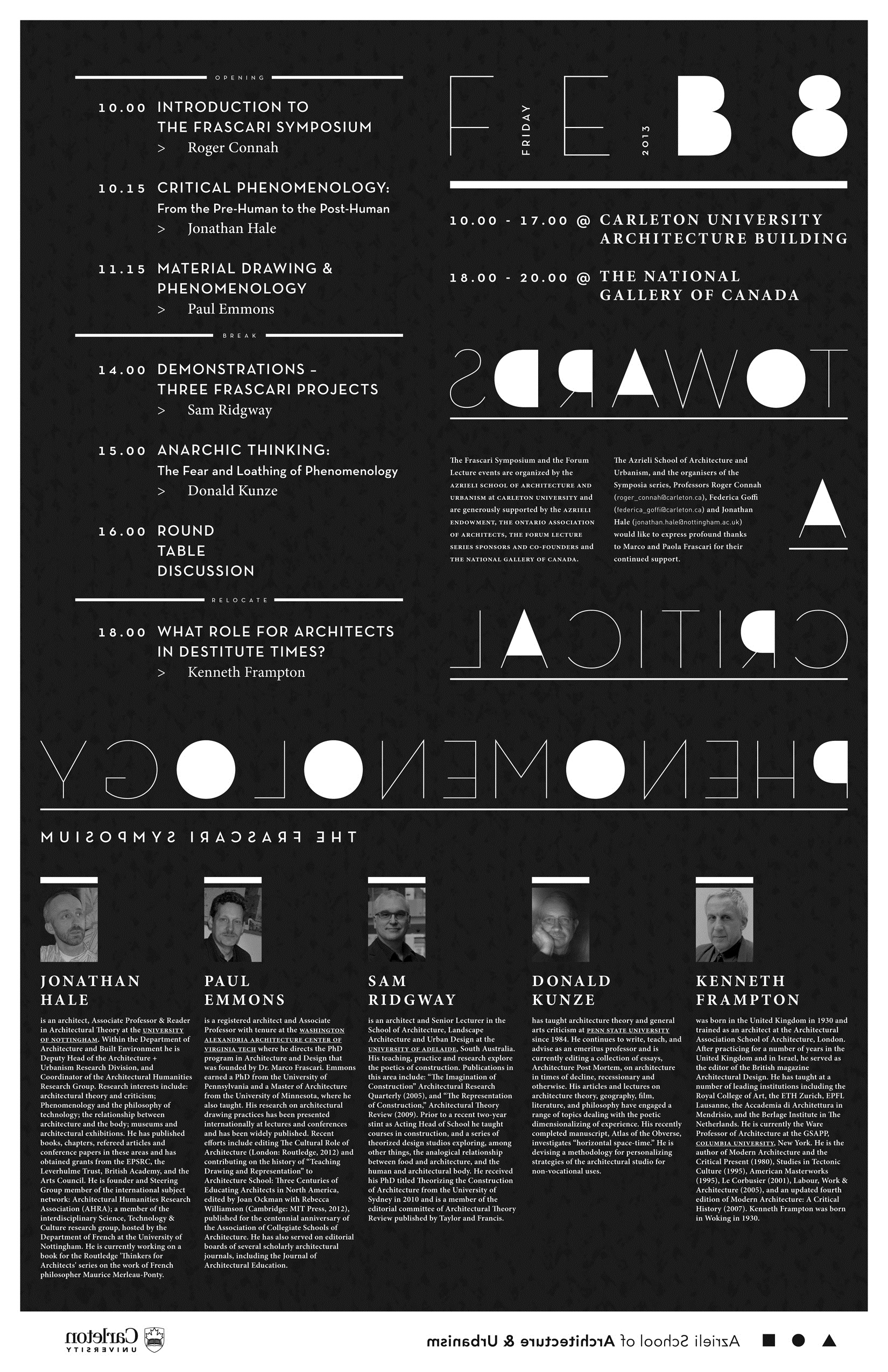 Lectures | bodyoftheory